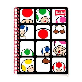 Cuaderno-Profesional-Marios-Bros-2-Cuadro-Chico-Scribe-100