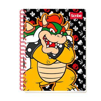 Cuaderno-Profesional-Marios-Bros-2-Cuadro-Chico-Scribe-100Ho
