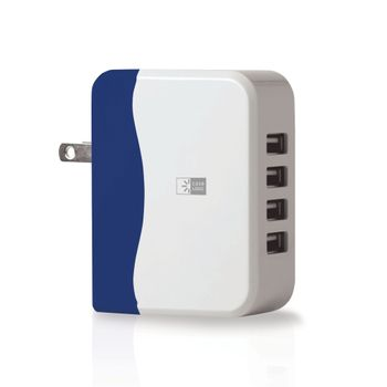 Adaptador-Pared-Case-Logic-4.9Amp-4USB