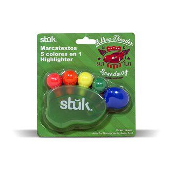 Marcatextos-Skweek-Punta-Cincel-Figura-de-Pie-5-Colores
