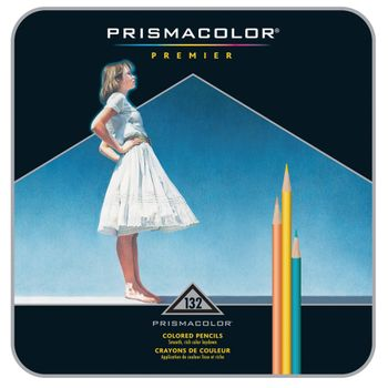 Colores-Prismacolor-Profesionales-De-132-PZ.-Estuche-Metal.