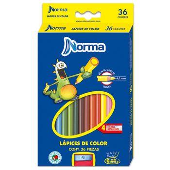 Colores-Norma-36-Piezas