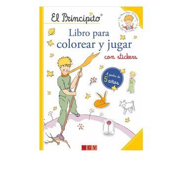 Libro-El-Principito-para-colorear-y-jugar