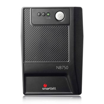 No-Break-Smartbitt-750VA-375W-6-Contactos-35-minutos
