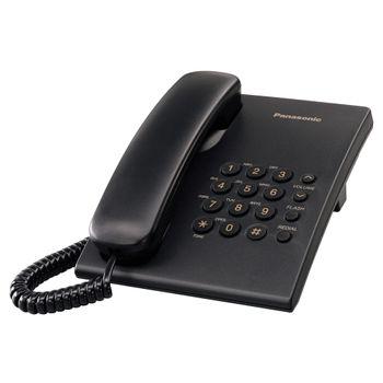 Telefono-Panasonic-Alambrico-Negro