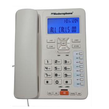 Telefono-Modernphone-TC-6400-Alambrico-2-Lineas