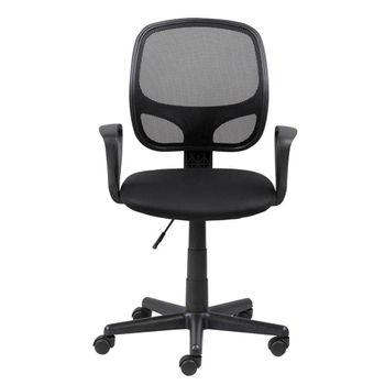 Silla-Secretarial-Major-Mesh-Negro