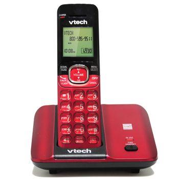 Telefono-Inalambrico-Vtech-Cordless-color-Rojo