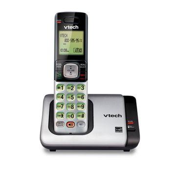 Telefono-Inalambrico-Vtech-CS6719-Negro-con-Plata