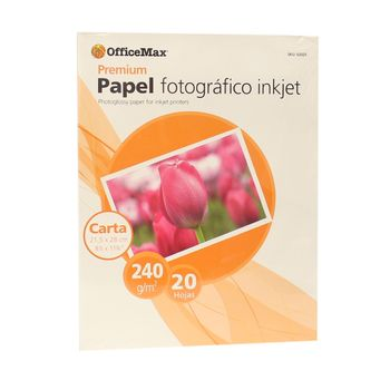 Papel-Officemax-Fotografico-Carta-Brillante-20-Piezas-240-Gr
