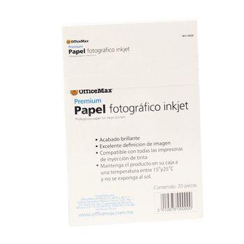 Papel-Officemax-Fotografico-Premium-Brillante-20-Piezas-240-Gr
