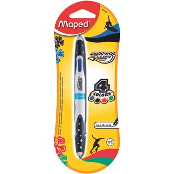 BOLIGRAFO-TWIN-TIP-4-COLORES-ESTANDAR-EN-BLISTER