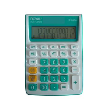 Calculadora-Royal-Mini-Escritorio-12-Digitos-Dual-Colors