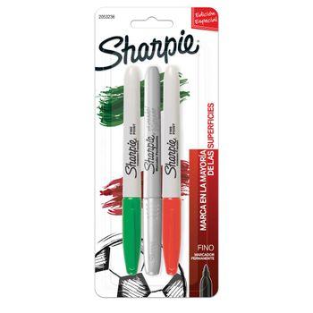 Marcador-Sharpie-fino-3-piezas-mundial