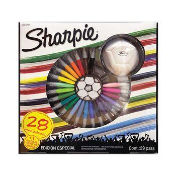 Marcador-Sharpie-fino-pack-de-29-piezas-mundial