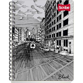 Cuaderno-Frances-Rayado-Scribe-Serie-Black-100-Hojas