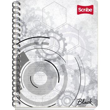Cuaderno-Frances-Cuadro-Grande-Scribe-Serie-Black-100-Hojas