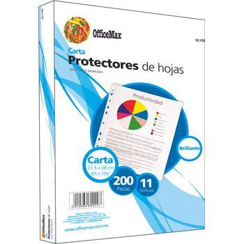 Protector-De-Hojas-Brillantes-Carta-200-Piezas-Officemax