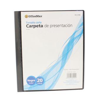 Mulimica-De-Polipropileno-Negro-Con-20-Hojas-Officemax®