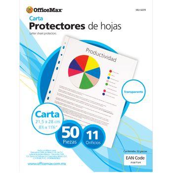 Protectores-De-Hojas-Traslucidos-Carta-50-Piezas-Officemax