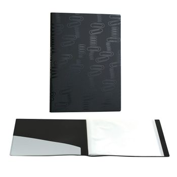 CARPETA-MULTIMICAS-CON-20-PROTECTORES-NEGRA-CARTA-ICLIP