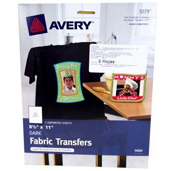 Etiqueta-Transfer-Carta-Negro-5pz-Avery