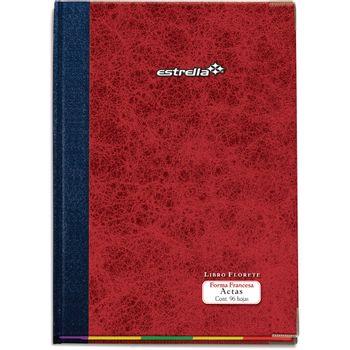 Libro-Estrella-Florete-Forma-Italiana-Actas-De-96-Hojas