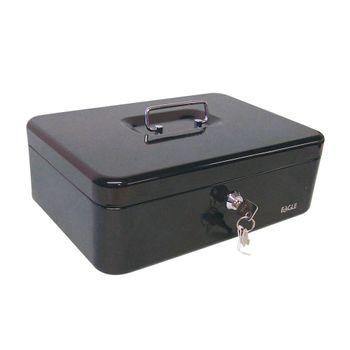 Caja-para-dinero-Officemax-mediana-con-2-llaves-negro---gris