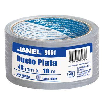 Cinta-Para-Ductos-Plata-Janel-48mmx10m