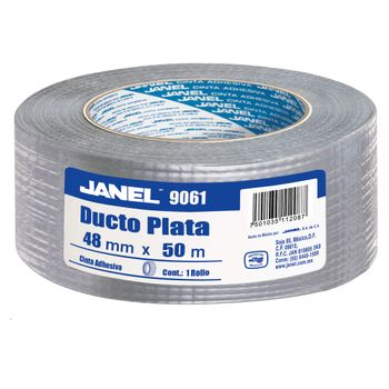 Cinta-Para-Ductos-Plata-Janel-48mmx50m