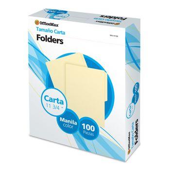 Folder-OMX-Carta-Manila-100-Piezas-171-Grs