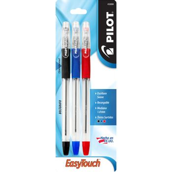 BOLIGRAFO-PILOT-EASY-TOUCH-P-MED-SURTIDO--NGO-AZL-RJO--3PZS