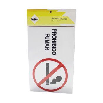 Se¦alizacion--Prohibido-Fumar--22.8x15.2-cm.-Sigel