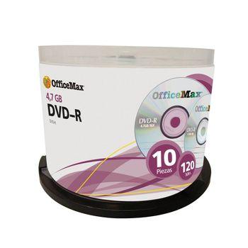DVD-R-4.7GB-120-Min-16X-10-Pk