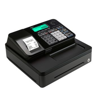 Caja-Registradora-Casio-PCR-T285-Alfanumerica-Negra