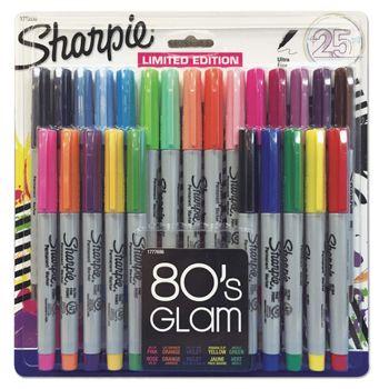 Marcadores-Sharpie-Colores-Surtidos-Punto-Ultrafino-25-PZAS