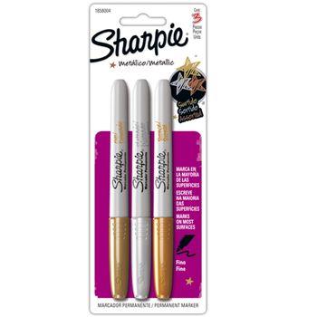 Marcador-Permanente-Sharpie-3-Piezas-Dorado-Y-Plata