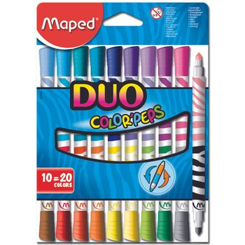 Plumones-Maped-Duo-de-Carton-10-20PZAS