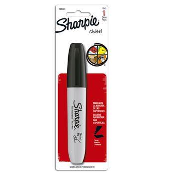 Marcador-Sharpie-Chisel-Negro