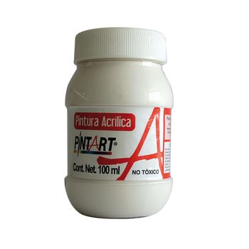 PINTURA-ACRILICA-BLANCO-100-100ML-PINTART