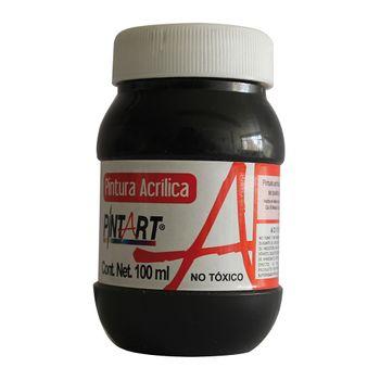 PINTURA-ACRILICA-NEGRO-600-100ML-PINTART