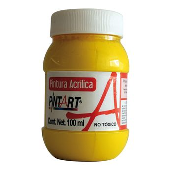 PINTURA-ACRILICA-AMARILLO-CLARO-202-100ML-PINTART
