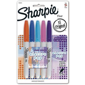 Marcador-Sharpie-Fino-Colores-Electro-Pop-T5