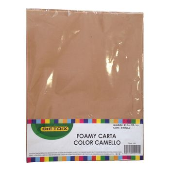 FOAMI-CARTA-CAMELLO-4-PZAS