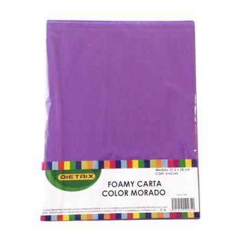 FOAMI-CARTA-MORADO-4-PZAS