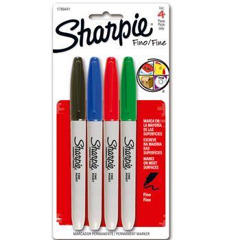 Marcador-Sharpie-Fino-T4-colores-surtido