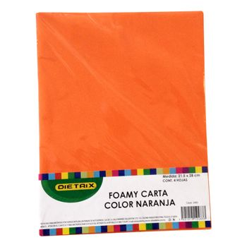 FOAMI-CARTA-NARANJA-4-PZAS