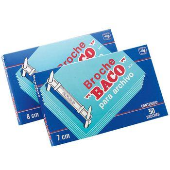 Broche-Baco-Para-Archivo-7cm-Caja-con-50-Piezas