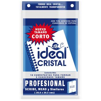 FORRO-CRIST-TIRADH-PROF-26.6CM-BOLSA-CON-10-piezas-IDEAL