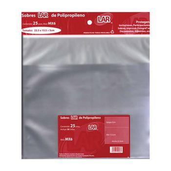 SOBRE-TRANSPARENTE-CELOFAN-225X15-5-PQTE-25PZ-LAR
